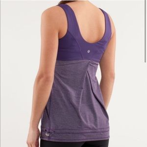 Lululemon Tame Me Tank Top Size 4 Concord Grape